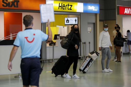 Los turistas británicos llegan a las Islas desde el 19 de julio.
