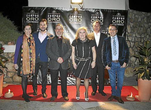 Paula Serra, Diego Revuelta, José Palacios, Gloria Hervás, Agustín Martínez 'El Casta' y Carlos Durán.
