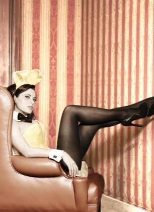 Yolanda, la ficha amarilla de Parchís, en la portada de la revista Playboy.