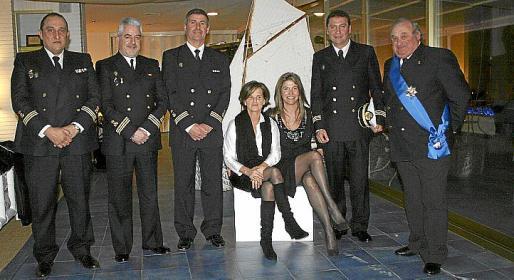 Miguel Vidal, Javier Sánchez, Tomeu Cañellas, Victoria Gómez, Claudia Suárez, Jesús Coll y Juan Coll.