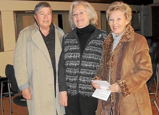 Maria Tous, Mayte Jerez y Karen Moll.