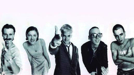 Imagen promocional de 'Trainspotting' .