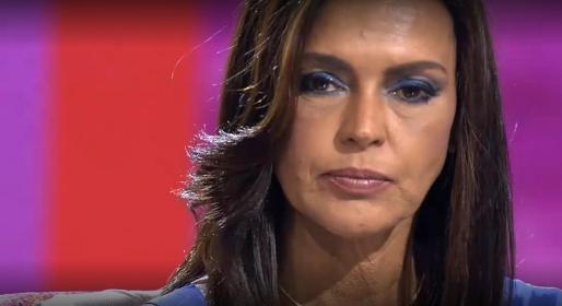 Olga Moreno en la emisión del programa.