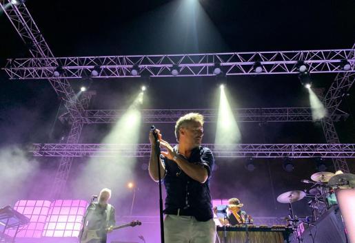 Love of Lesbian, durante el concierto en Ibiza.