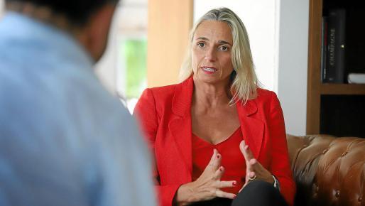 Maria Frontera está convencida de que los fondos europeos han de servir para transformar Balears.