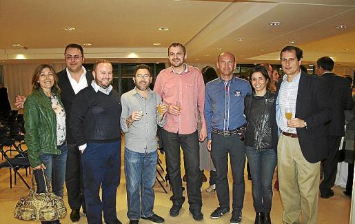 Lluïsa Llull, Juan Carlos Enrique, Tommy Ferragut, Pep Lluís Cortés, Jaime Mayol, José Martínez, Pilar Llompart y Oscar Ruiz.
