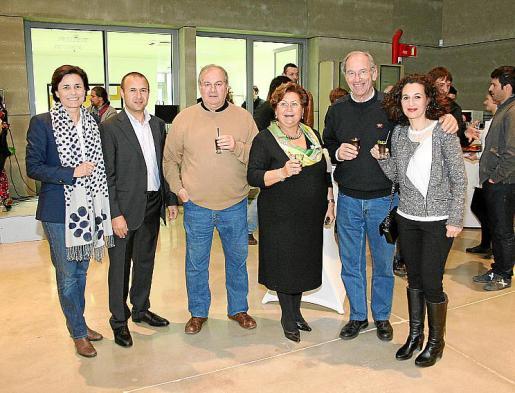 Paula Serra, Biel Àngel Morey, Miguel Vidal, Antònia Garau, Simón Andreu y Xisca Morey.