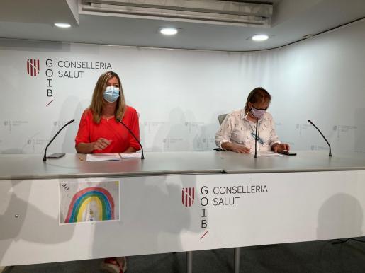 Patricia Gómez y Eugènia Carandell, este viernes en rueda de prensa.