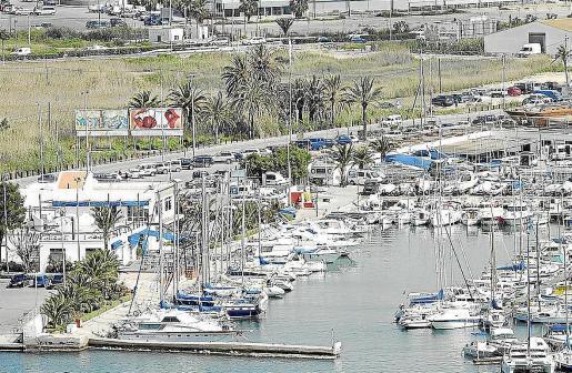 Imagen de archivo de las instalaciones del Club Náutico de Ibiza.