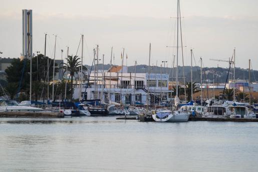 Vista del Club Náutico de Ibiza.