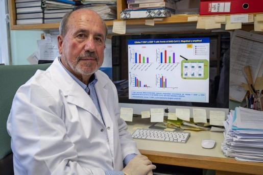 El investigador español Mariano Esteban del Centro Nacional de Biotecnología (CSIC).