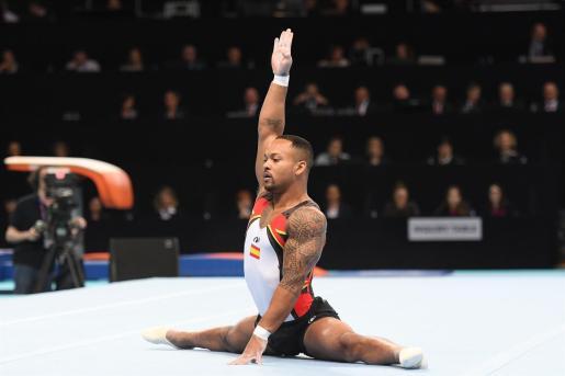 Rayderley Zapata, principal baza de la gimnasia artística española en los Juegos de Tokio 2020.