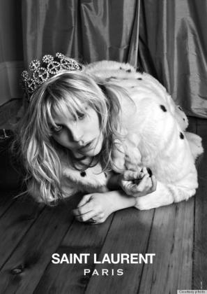 Courtney Love, para YSL.