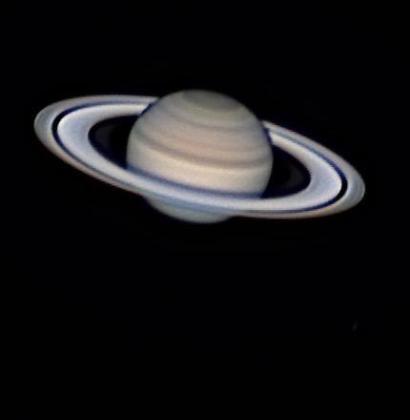 La mejor imagen de Saturno obtenida desde el Observatorio de Puig des Molins.