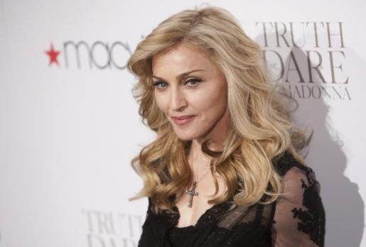 Madonna, en una de sus apariciones pública del año pasado.
