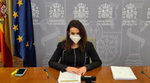 La directora de la Agencia Española de Medicamentos y Productos Sanitarios (Aemps), Silvia Calzón.
