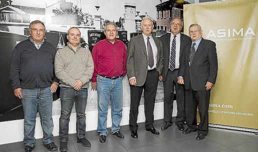 Rafael Llaneras, Joaquín Tejadas, Miguel Muñoz, Jaime Rodríguez, Miguel Bordoy y Josep Oliver.