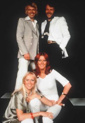 Los integrantes de ABBA.