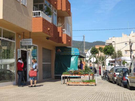 Uno de los rincones del barrio, donde se concentran varios establecimientos.