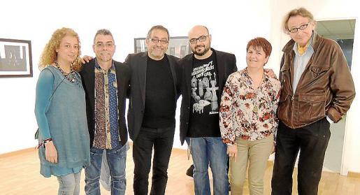 Marga González, José Márquez, Toni de la Mata, Curro Viera, Teresa Castell y Miquel Martorell.