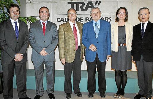 Xisco Bosch, Jordi Mulet, Fernando Alzamora, Josep Oliver, Elena Escagedo y Francisco Navarro.