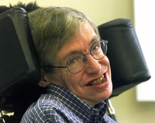 Stephen Hawking, físico.