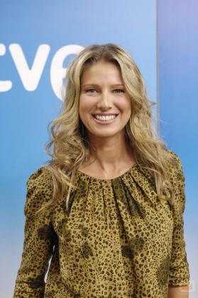 Anne Igartiburu, presentadora de televisión.