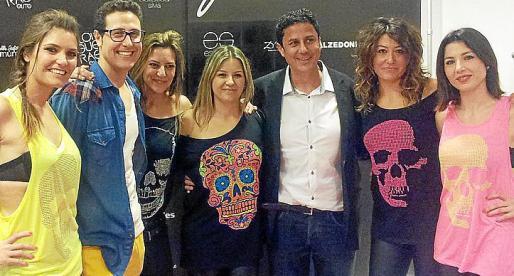 Laura Grimalt, Jaume Grimalt, Silvia Umbert, Cristina Umbert, Jordi Muntaner, Carme Rebollo y Silvia Mateu.