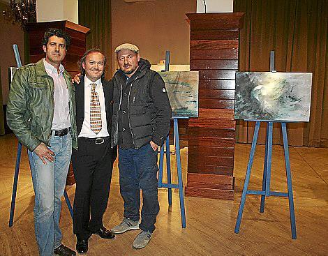 Ángel Rincón, Luca Monzani y Pino Violante.
