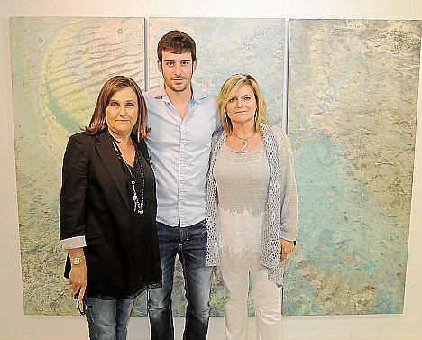 Marilén Guerrero, Biel Perelló y Dolors Comas.