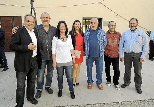 Toni Bennàssar, Miquel Jaume, Pilar Oliver, Margaret Mercadal, Miquel Binimelis, Llorenç Perelló y Miquel Gelabert.