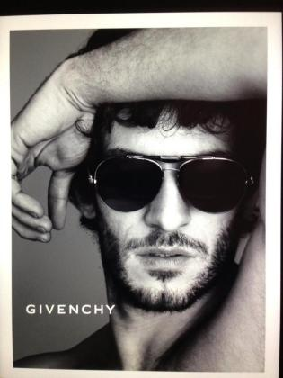 Quim Gutiérrez se convierte en imagen de Givenchy.