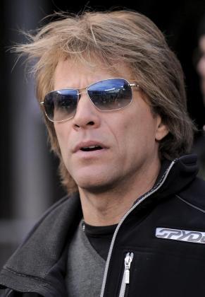 El cantante estadounidense Jon Bon Jovi.