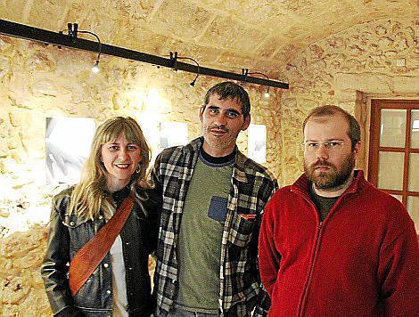 Ángeles Palenzuela, José Soria y Sebastià Vives.