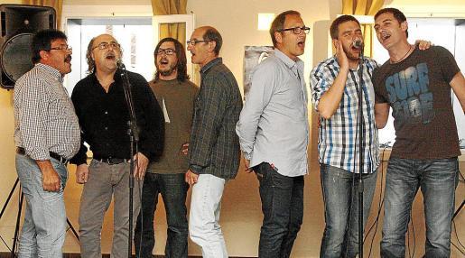 Joan León, Eduard Mascaró, Josep Bagur, Miquel Fullana, Damià Bosch, Bep Marquès y Quique Soriano.