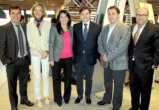 Juan Sala, Belén Agustí, Esperança Crespí, Jesús Valls, Joaquín Polo y Robert Ros.