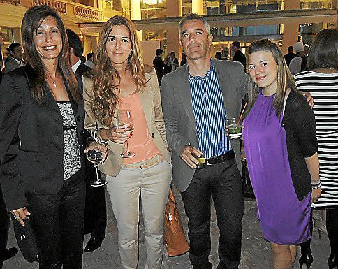Margherita Sgroi, Ana Canaves, Jaume Fiol y Yosemin Ilicali.