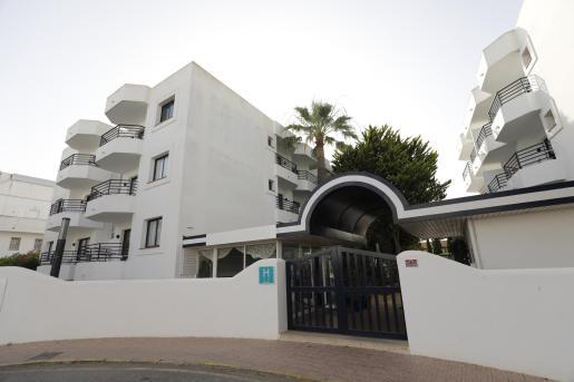 Hotel La Noria, uno de los hoteles puente de Ibiza.