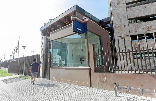 Policía Nacional de Ibiza.