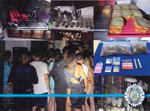 La Policía interviene en una fiesta ilegal en Sant Josep con 40 personas y DJ.