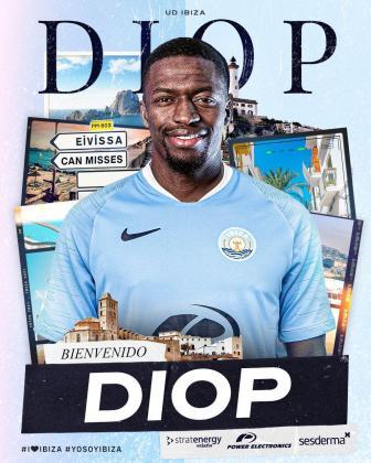Pape Diop, nuevo jugador del Ibiza.