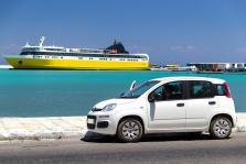 Alquilar un coche en Ibiza.