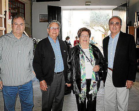 Miguel Vidal, Gabriel Company, Maria Bauzà y Rafel Nadal.