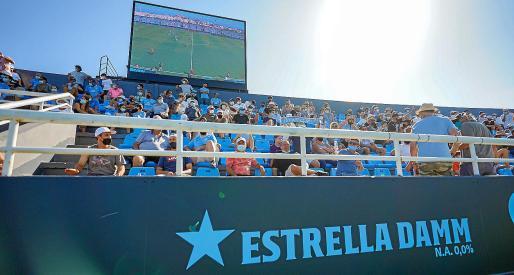 Una imagen del anuncio que se pudo ver el domingo durante el partido UD Ibiza-Amorebieta.