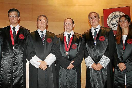 Javier Capelastegui, Joan Font, Rafa Gil March, Martín Aleñar y Patricia Campomar.