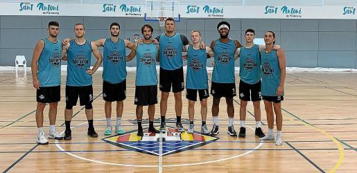 Una imagen de los jugadores del CB Sant Antoni que ya han comenzado la pretemporada.