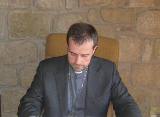Novell, al principio de su etapa como obispo de Solsona.