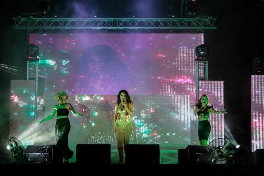 Sant Antoni acogió ayer por la noche la fiesta Diversity Celebration de Ibiza Pride 2021.