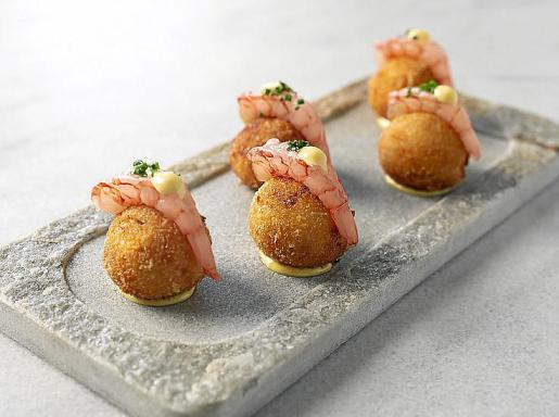 Un plato del restaurante El Corsario Ibiza.