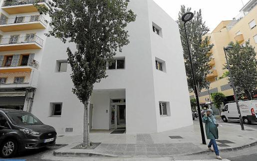 El albergue municipal de la calle Vicent Serra i Orvay está acabado desde hace meses.